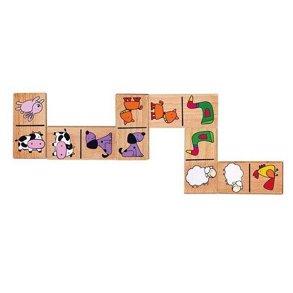 Gra domino - zwierzęta Viga