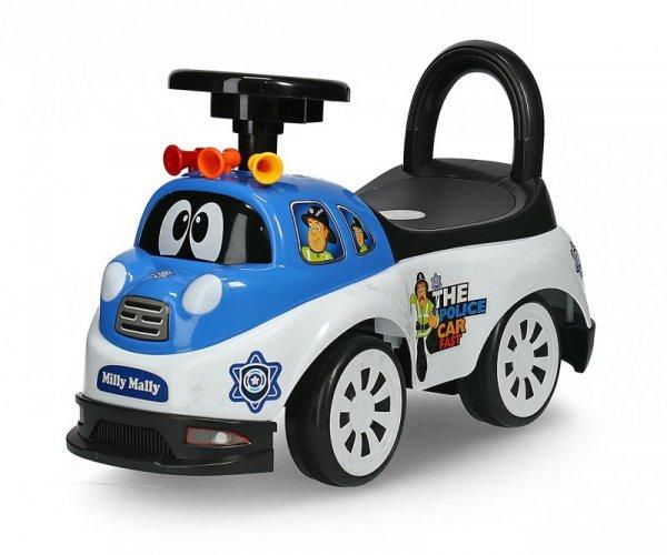 Jeździk pchacz Tipi Police Milly Mally