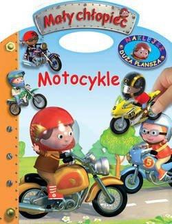 KS44 Motocykle. Naklejki – Duża plansza. Mały chłopiec