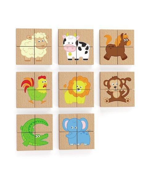 Zestaw puzzli magnetycznych-farma Viga