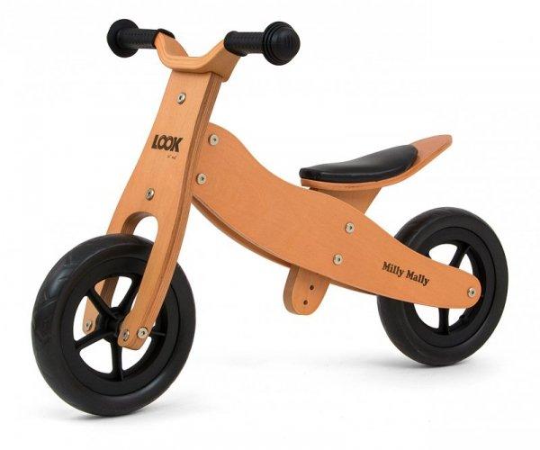 Drewniany rowerek biegowy 2w1 Look Natural Milly Mally