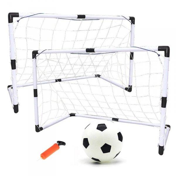 Bramki ogrodowe do piłki nożnej 2szt 120x180x60