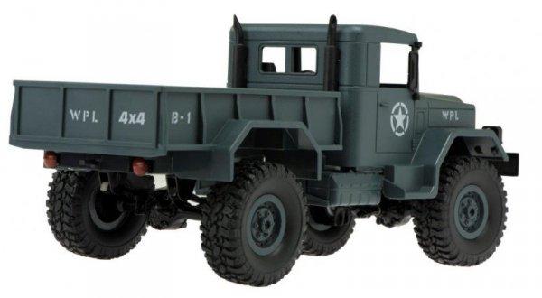 Samochód zdalnie sterowany RC wojskowy leśny