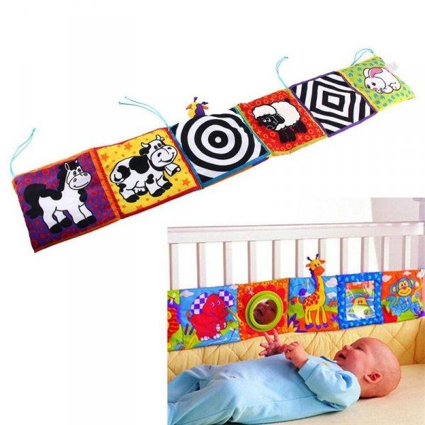 Mata Edukacyjna ochronna dla niemowląt na łóżeczko