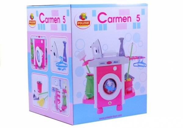 Zestaw Carmen z akcesoriami Wader Polesie58843