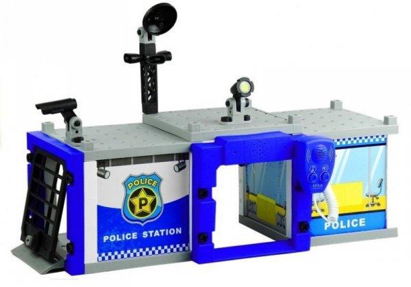 Policja do Złożenia Autka Odbiornik 59 Elementów