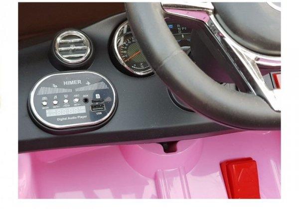 Auto na Akumulator Mercedes C63 Różowy
