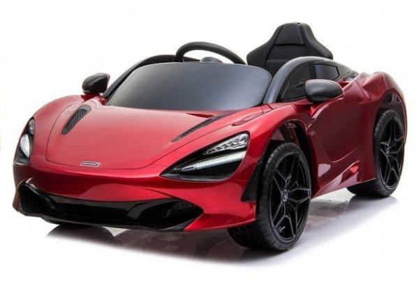 Auto na Akumulator McLaren 720S Czerwony Lakier