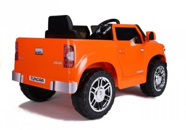 Auto na akumulator Toyota Tundra  Pomarańczowa Koła EVA