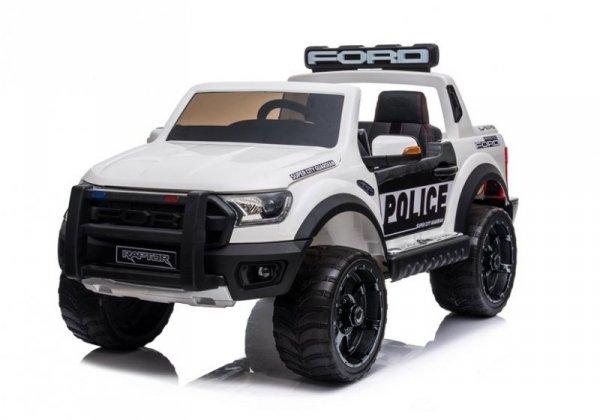 Auto na Akumulator Ford Raptor Police DK-F150RP Biały