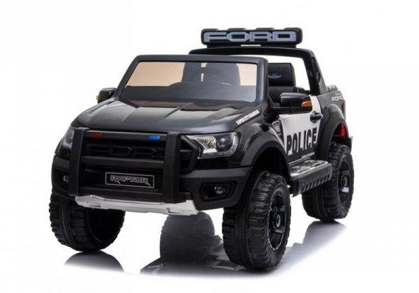 Auto na Akumulator Ford Raptor Police DK-F150RP Czarny Lakier