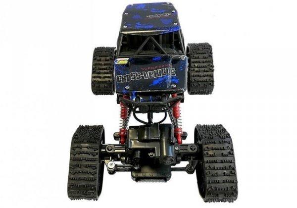 Auto Zdalnie Sterowane Terenowe R/C Niebieski 4x4