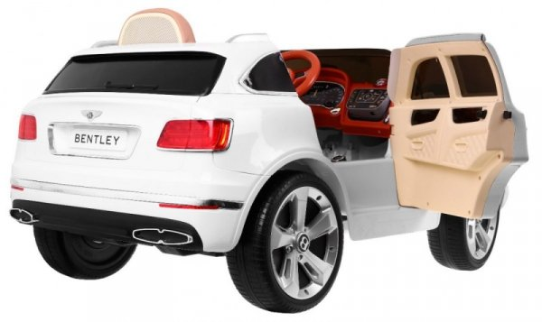 Auto na akumulator Bentley Bentayga Biały