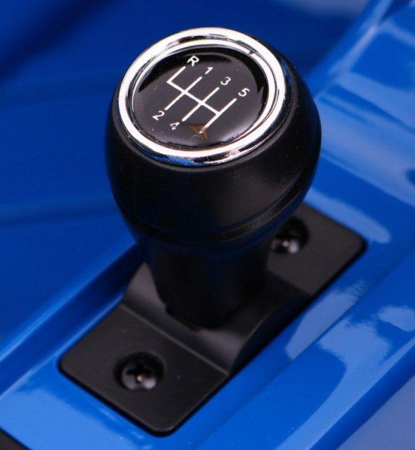 Auto na akumulator dla dzieci AUDI R8 Spyder RS EVA 2.4G Lakier Niebieski