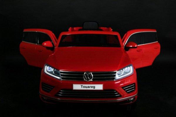 Auto na akumulator Volkswagen Touareg Czerwony