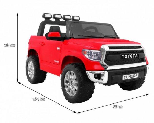 Auto na akumulator Toyota Tundra Czerwona