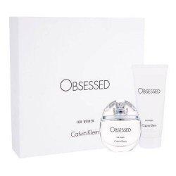 ZESTAW CALVIN KLEIN Obsessed for women woda perfumowana dla kobiet spray 50ml + balsam do ciała 100ml