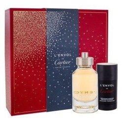 ZESTAW CARTIER L'Envol perfumy męskie - woda toaletowa 80ml + dezodorant w sztyfcie 75ml