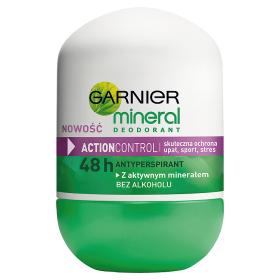 GARNIER Mineral Action Control dezodorant roll-on dla kobiet 50ml