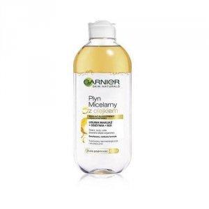GARNIER Skin Naturals płyn micelarny z olejkiem 400ml