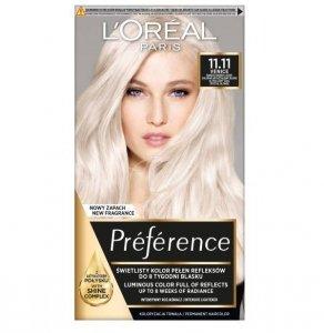 L'OREAL Paris Feria Preference farba do włosów 11.11 Ultra-Light