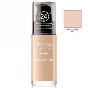 REVLON Colorstay Makeup Combination Oily Skin podkład do twarzy do skóry tłustej i mieszanej 30ml (220 Natural Beige)
