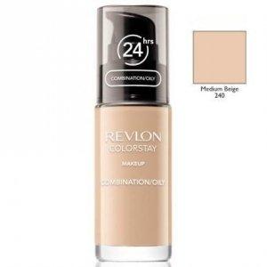 REVLON Colorstay Makeup Combination Oily Skin podkład do twarzy do skóry tłustej i mieszanej 30ml (240 Medium Beige)