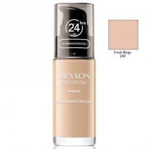 REVLON Colorstay Makeup Combination Oily Skin podkład do twarzy do skóry tłustej i mieszanej 30ml (250 Fresh Beige)
