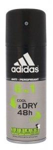 ADIDAS 6in1 Cool & Dry 48h dezodorant w sprayu dla mężczyzn 150ml