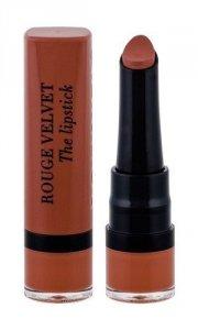 BOURJOIS PARIS Rouge Velvet The Lipstick pomadka dla kobiet 2,4g (16 Caramelody)