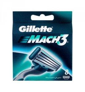 GILLETTE Mach3 wkład do maszynki dla mężczyzn 8 szt.