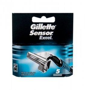 GILLETTE Sensor Excel wkład do maszynki dla mężczyzn 5 szt.