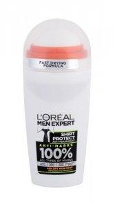 L'ORÉAL PARIS Men Expert Shirt Protect 48H dezodorant roll-on dla mężczyzn 50ml
