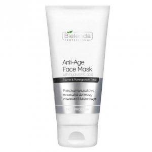 BIELENDA PROFESSIONAL Face Program Anti-Age Face Mask Hyaluronic Acid przeciwzmarszczkowa maseczka do twarzy z kwasem hialuronow