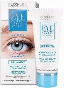 FLOSLEK Eye Care Expert delikatny krem pod oczy do skóry wrażliwej 30ml
