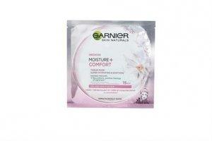 GARNIER Skin Naturals Moisture+ Comfort kojąca maseczka do twarzy 32g