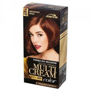 JOANNA Multi Cream Color farba do włosów 44.5 Miedziany Brąz