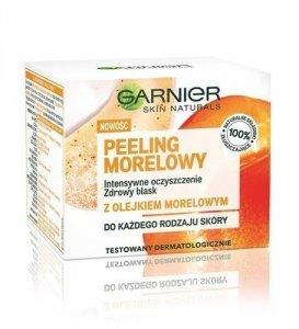 GARNIER Skin Naturals Apricot Scrub peeling morelowy intensywne oczyszczenie 50ml