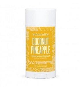 SCHMIDT'S Natural Deodorant naturalny dezodorant w sztyfcie Kokos & Ananas 58ml