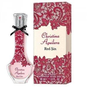 CHRISTINA AGUILERA Red Sin woda perfumowana dla kobiet 50ml