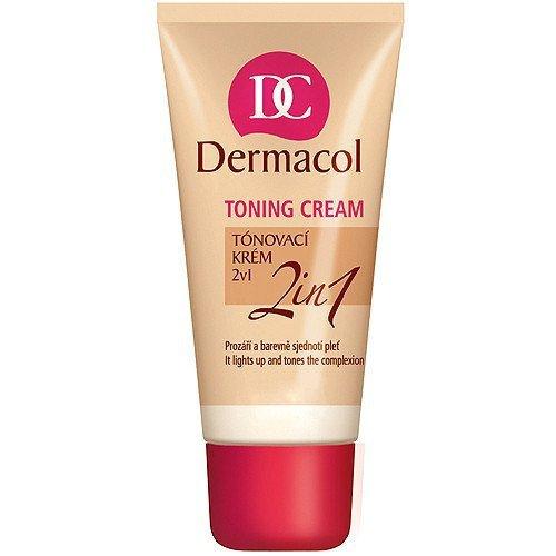 DERMACOL Toning Cream 2in1 Desert krem BB do twarzy dla kobiet 30ml