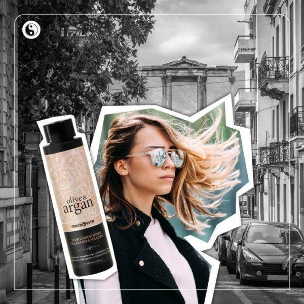 MACROVITA OLIVE & ARGAN odżywka do włosów z olejkiem arganowym 200ml