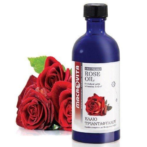 MACROVITA OLEJ RÓŻANY w naturalnych olejach tłoczony na zimno z witaminą E 100ml