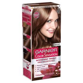 GARNIER Color Sensation farba do włosów 6.0 Szlachetny Ciemny Brąz