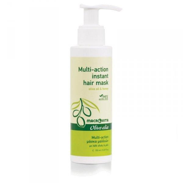 MACROVITA OLIVE-ELIA MULTI-ACTION INSTANT HAIR MASK błyskawiczna maska do włosów z bio-oliwą i miodem 150ml
