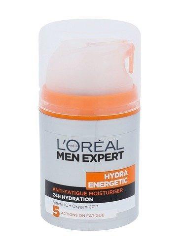 L'ORÉAL PARIS Men Expert Hydra Energetic Daily Moisturising Lotionkrem do twarzy na dzień dla mężczyzn 50ml