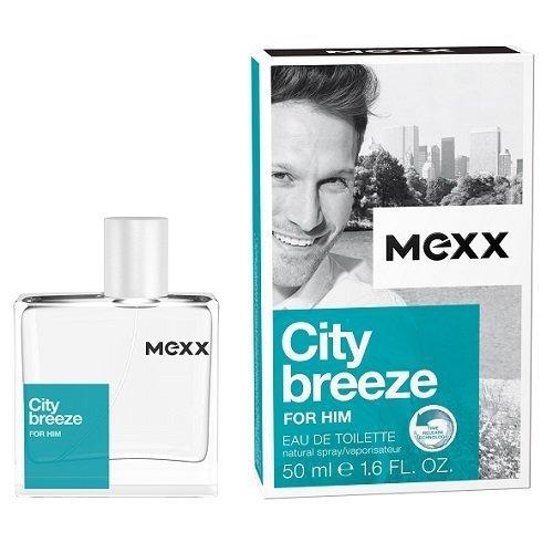 MEXX City Breeze For Him woda toaletowa dla mężczyzn 50ml