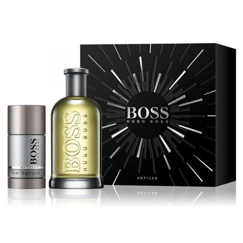 ZESTAW HUGO BOSS No.6 (Bottled) woda toaletowa dla mężczyzn 200ml + dezodorant w sztyfcie 75ml
