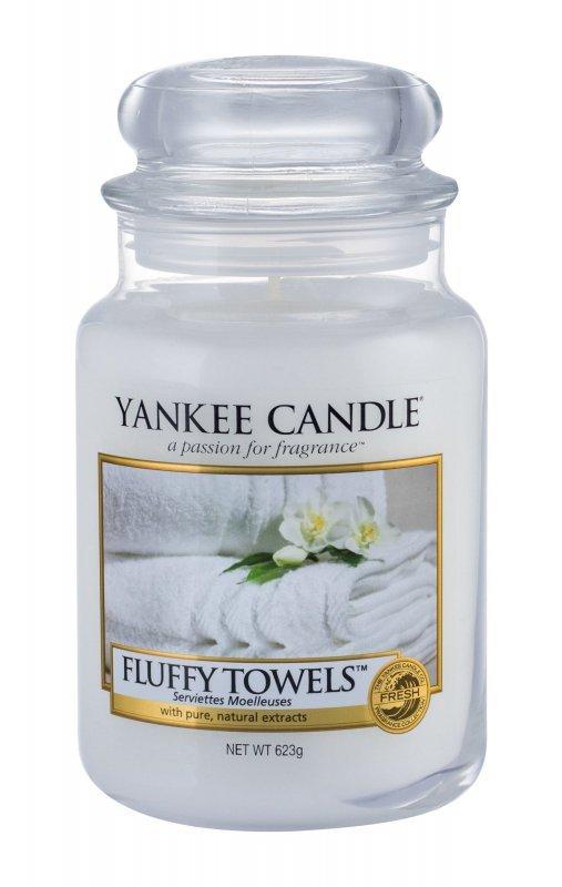 Yankee Candle Fluffy Towels (Świeczka zapachowa, U, 623g)