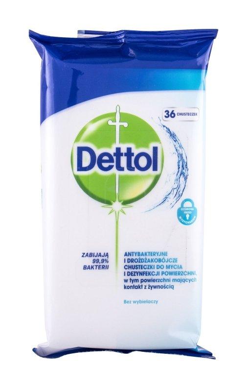 Dettol Antibacterial (Antybakteryjne kosmetyki, U, 36szt)